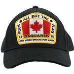 Accessoarer Herrkläder DSquared2 Canada Patch Baseball Cap - Black
