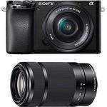 Sony Alpha 6100 + 16-50mm + 55-210mm OSS