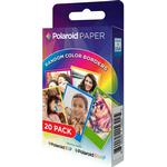 Polaroid Rainbow Border Premium Zink Paper 20 pack