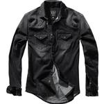 Jeansskjortor Herrkläder Brandit Riley Denim Shirt - Black