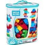 Byggleksaker Mega Bloks Big Building Bag Classic 60pcs