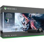 Xbox One Spelkonsoler Microsoft Xbox One X 1TB - Star Wars Jedi: Fallen Order Bundle