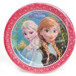 Tallrikar - Frost Disney Plates Frozen 8-pack