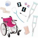 Toys Our Generation Wheelchair Medical Set