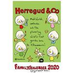 Herregud & Co Familjekalender 2020 (Övrigt format)