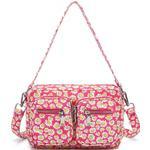 Håndtasker - Pink Noella Celina Crossover Bag - Pink Flower