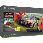 Forza Horizon 4 Spelkonsoler Microsoft Xbox One X 1TB - Forza Horizon 4 & Forza Horizon 4: Lego Speed Champions Bundle