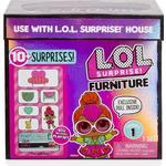Doll-house Furniture LOL Surprise Furniture Series 1 Bedroom with Neon QT