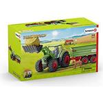 Play Set Schleich Tractor with Trailer 42379