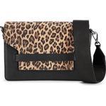 Väskor Markberg Arabella Crossbody Bag - Black w Printed Leopard