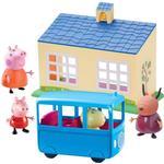 Toys Peppa Pig School & Bus Playset