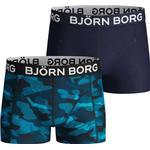Boxershorts Barnkläder Björn Borg Boy Underwear 2-pack - Marin