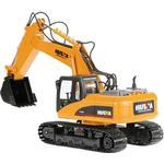 Radiostyrda leksaker HuiNa Excavator W Metal Drawer RTR CYP1005
