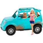 Toy Car Mattel Barbie with SUV