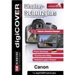 digiCOVER Hybrid Glas Canon Powershot G7X Mark III Displayskydd