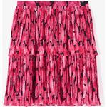 Damkläder Kenzo Peonie Pleated Skirt - Deep Fuschia