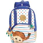 Ryggsäckar Pippi Pippi Longstocking Backpack - Red/Blue