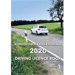 Körkortsboken på Engelska 2020: Driving licence book