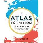 Atlas kartor Böcker Atlas för nyfikna: 100 kartor som visar världen på ett nytt sätt