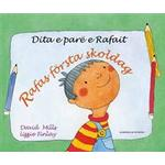 Albanska Böcker Rafas första skoldag (albanska och svenska)