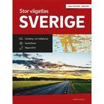 Stor Vägatlas Sverige: Vägatlas i stort format, skala 1:250000-1:400000