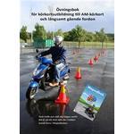 Övningsbok för körkortsutbildning till AM-körkort och långsamt gående fordon