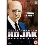 Kojak dvd Filmer Kojak - Season 5 (5-disc)