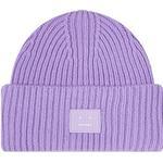 Mössor Herrkläder Acne Studios Face-Patch Beanie - Lavender Purple