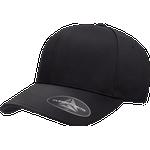 Kepsar Herrkläder Flexfit Delta Cap - Black
