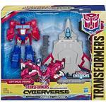 Transformers - Action Figure Hasbro Transformers Cyberverse Spark Armor Optimus Prime E4328