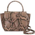 Brun - Axelremsväskor ATP Atelier Montalcino Mini Handbag - Brown