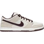 Nike SB Shoes Nike SB Dunk Low Pro M - Desert Sand/Summit White/Mahogany