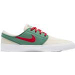 Nike SB Shoes Nike SB Zoom Stefan Janoski Canvas RM M - Pale Ivory/Evergreen/White/Atom Red