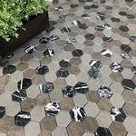 Mosaik Tenfors Hexagon PM0036 4.8x5.4cm