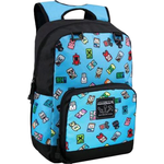 Ryggsäckar Minecraft Bobble Mobs Backpack - Blue