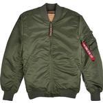 Bomberjackor Herrkläder Alpha Industries MA-1 VF 59 Long Jacket - Sage/Green