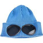 Mössor Herrkläder C.P. Company Cotton Goggle Beanie - Blue