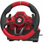 Hori Nintendo Switch Mario Kart Racing Wheel Pro Deluxe Controller - Red/Black