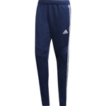 Träningsbyxor Adidas Tiro 19 Training Pants Men - Dark Blue/White