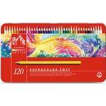 Hobbymaterial Caran d'Ache Supracolor Soft Aquarelle Coloured Pencils 120 Set