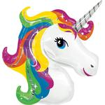 Folieballong Amscan Foil Ballon SuperShape Rainbow Unicorn