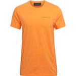 T-Shirts Herrkläder Peak Performance Urban T-shirt - Orange Dune