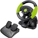 Esperanza High Octane Steering Wheel - Black/Green