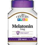 21st Century Melatonin 3mg 200 st