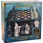 The Lord of The Rings Battle for Middle Earth Chess Set