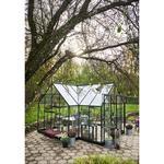 Härdat Glas - Fristående växthus Halls Garden Room 12.9m² Aluminium Härdat glas