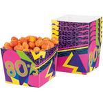 Popcornbägare Boland Popcorn Box 80s 6-pack