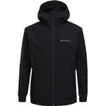 Softshell Jackor Herrkläder Peak Performance Adventure Jacket with Hood - Black