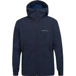 Softshell Jackor Herrkläder Peak Performance Adventure Jacket with Hood - Blue Shadow