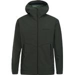 Softshell Jackor Herrkläder Peak Performance Adventure Jacket with Hood - Drift Green